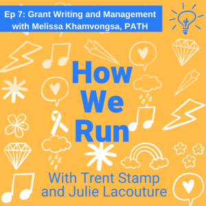 Grant writing and managing funders